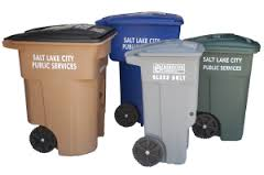 Trash Recycle Bins